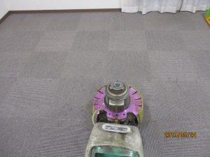 マンション 集会室 カーペット清掃