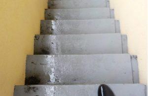 マンション 階段清掃